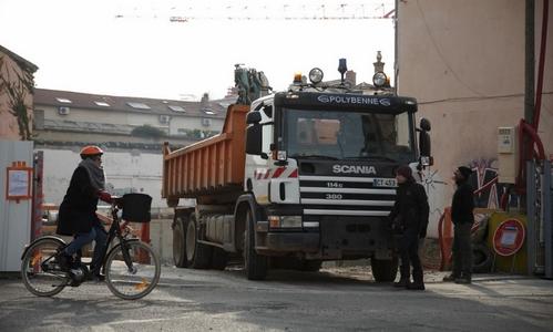 Flux urbain camion