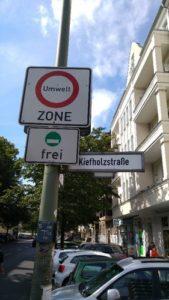 Panneau ZFE Berlin